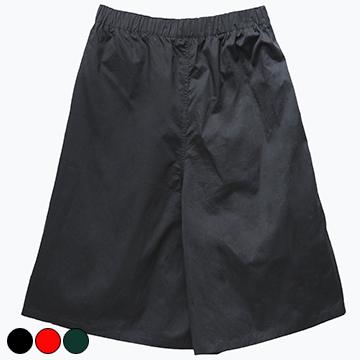 67122 純色橡筋頭闊腳褲