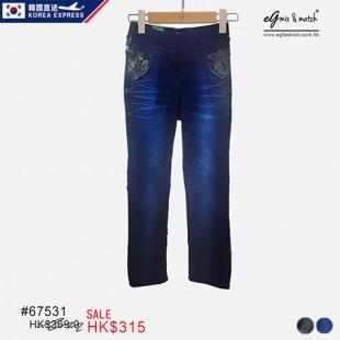 67531 ✈韓國洗水Jeans