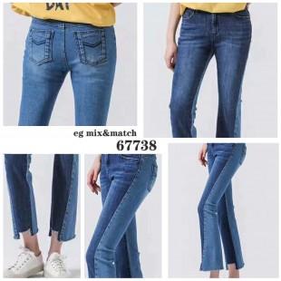 韓國直送潮牛仔褲 - 67738