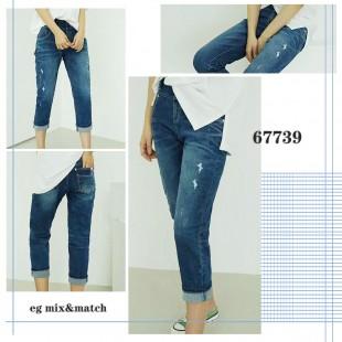 韓國直送潮牛仔褲 - 67739