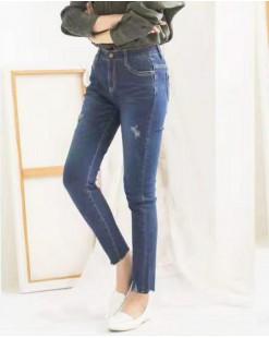 韓國直送J.BLANC修身顯瘦舒適牛仔褲 - 67823   #全店新品4件起75折優惠碼:-25OFF  (HK$255) #