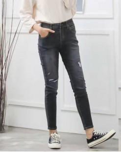 韓國直送J.BLANC簡約顯瘦牛仔褲 - 67824  #全店新品4件起75折優惠碼:-25OFF (HK$255 ) #