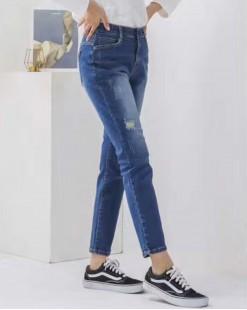 韓國直送J.BLANC個性顯瘦彈性牛仔褲 - 67825  #全店新品4件起75折優惠碼:-25OFF  (HK$255) #