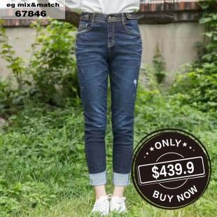 韓國直送HOW LUK牛仔褲 - 67846
