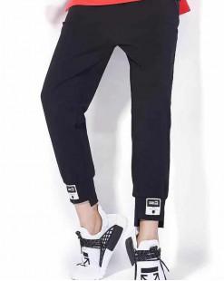 【新品】淨色窄腳橡筋褲 - 67862 #全店新品4件起75折:HK$120 #