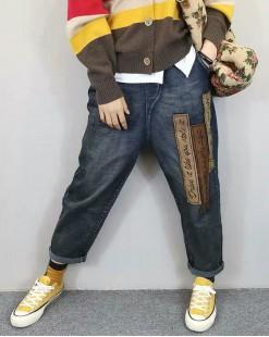 韓國直送S.believe寬鬆大碼直筒牛仔褲 - 67903  #全店新品4件起75折優惠碼:-25OFF (HK$150) #