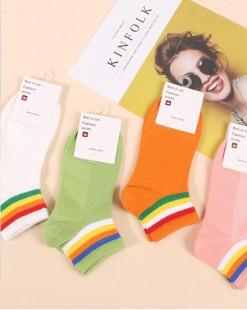 全棉襪子(1套5對) - 78314 - 16號色