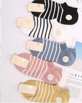 全棉襪子(1套5對) - 78314 - 20號色