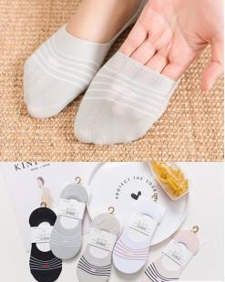 全棉襪子(1套5對) - 78315 - 1號色