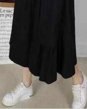 時尚淨色扯布半截裙 - 84035 - 秋冬新品 買2件8折(輸入20%off)買3件75折(輸入25%off)買4件7折(輸入30%off)