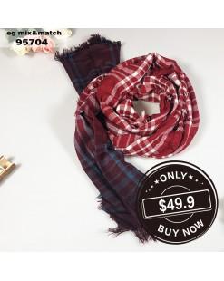 潮款薄圍巾-95704