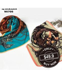 潮款薄圍巾-95705