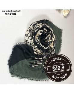 潮款薄圍巾-95706