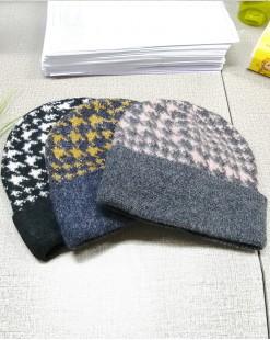 時尚拼色保暖冷帽 - 99649