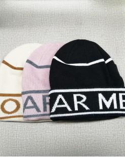 時尚保暖針織冷帽 - 99652