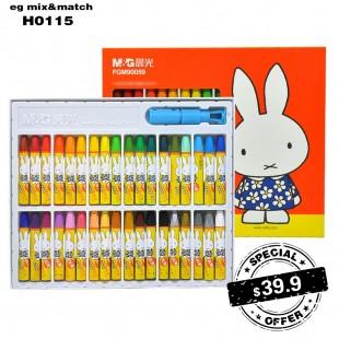 miffy 蠟筆 (1盒36色 ) - H0115