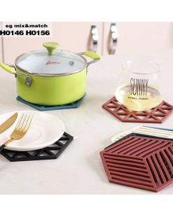 鏤空多變形隔熱餐墊 - H0146/H0156