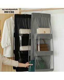 簡約雙層包包收納掛袋 - H0150